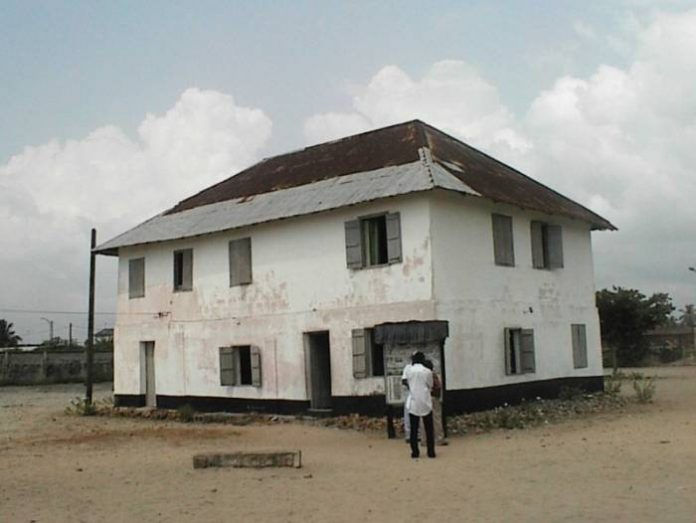 First European Storey Building - 175 years old - Here are some of the oldest buildings in Nigeria
