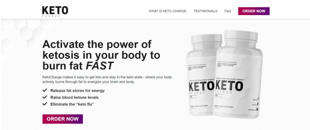 KetoCharge Reviews: Is Keto Charge Diet Pills An Effective Fat Burner In 2021