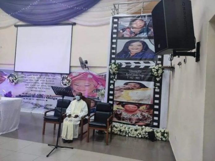 Rachel Oniga: Photos From Late Actress's Service of Songs Held In Lagos