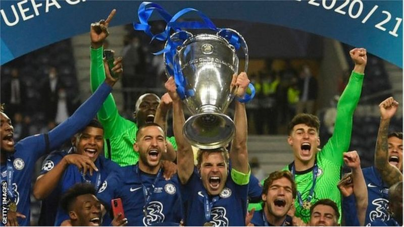 UEFA Champions League 2021/22: All The Fixtures, How You Can Watch The Match And Kick Off Time
