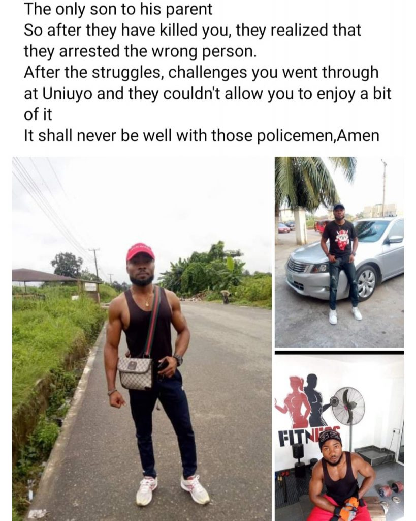 Nigerian Graduate Allegedly Beaten to Death by Police Officers (Photo)