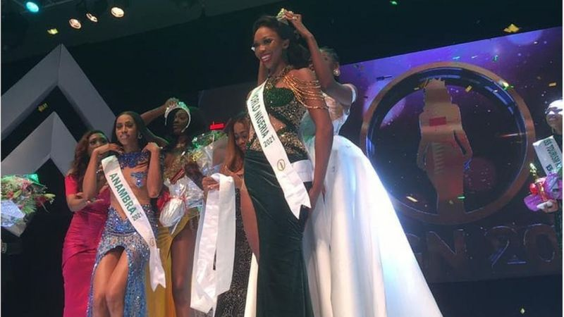 MBGN 2021: Miss Abuja, Oluchi Madubuike Wins The Most Beautiful Girl In Nigeria (Photos)