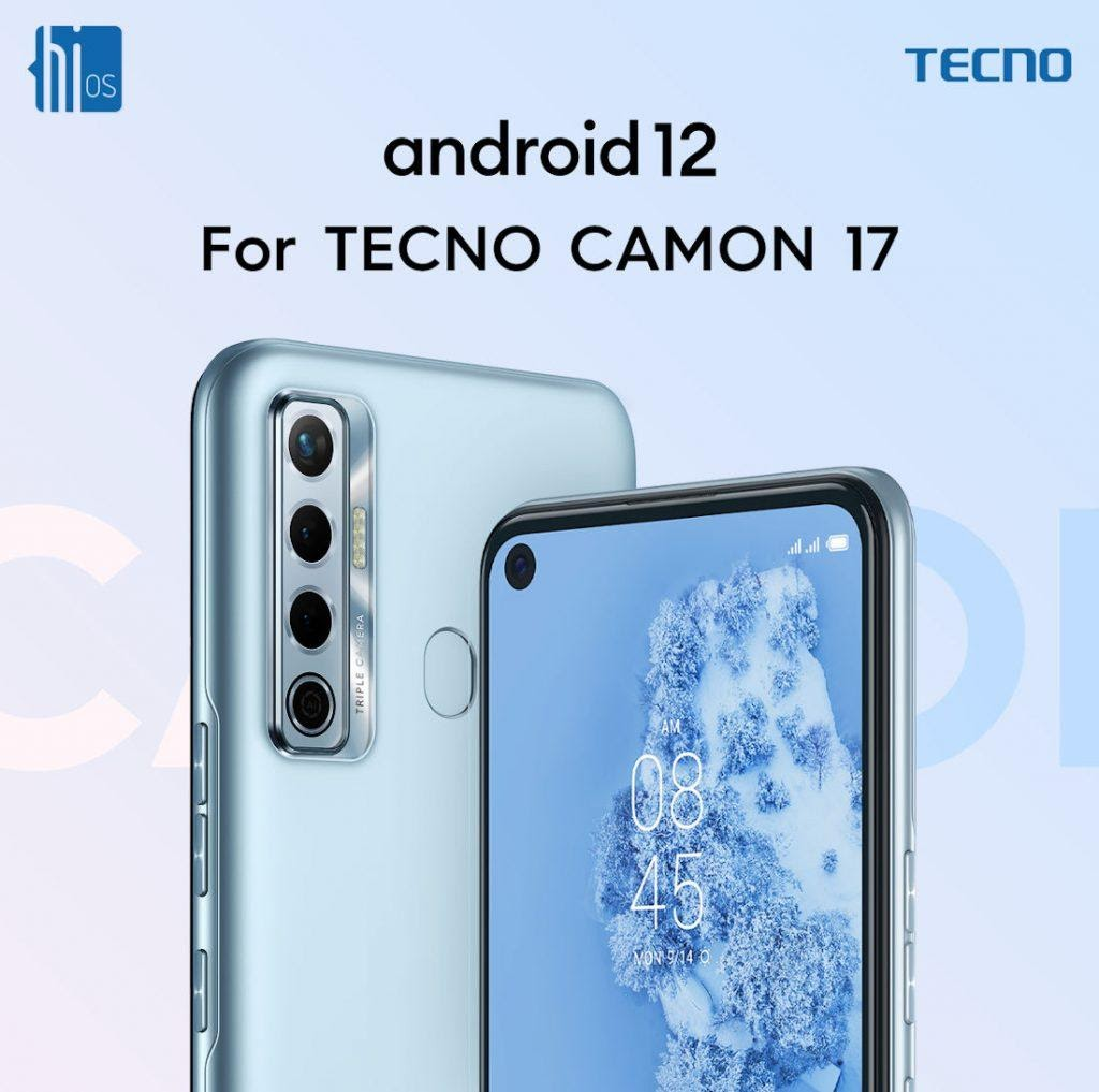 TECNO CAMON 17 to get HiOS 8.5 based on Android 12 later this year
